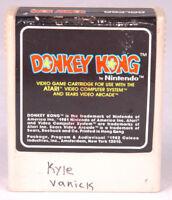 Donkey Kong Atari Game Cartridge-Video Game~Vintage 1982-Nintendo-Coleco Vision