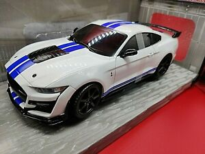 VOITURE SOLIDO FORD MUSTANG SHELBY GT 500 BLANCHE FAST TRACK 1:18 NEUF BOITE