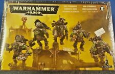 Warhammer 40K ORK STORMBOYZ With Jump Packs, 5 Assault Orks, New, Sealed