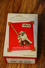 Star Wars Keepsake Christmas Ornament Yoda 2003 Attack of the Clones Hallmark