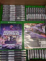 (54 Game Lot)Agents of Mayhem Xbox One Day One w/Legal Action Pending DLC