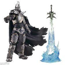 Lich King Arthas Death Knight FrostMourne Sword Adjustable Posing Figure New