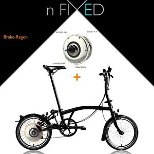 "nFIXED ""Electric Brompton"" ZEHUS (Brake-Regen)"