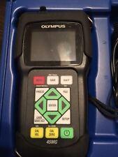 Olympus Panametrics 45MG Plus Ultrasonic Thickness Flaw Detector NDT Krautkramer