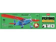 Fairchild 24 Stick and Tissue, free flight, Model Airplane Kit 701, Rubber Power