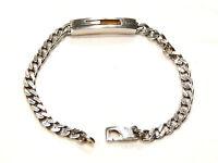 Bijou argent massif 925 Authentique  bracelet Gucci idéal pour cadeau