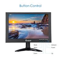 "EYOYO DC12V 10""TFT Display CCTV HDMI/VGA/DC Surveillance PC Monitor HD 1280x800"