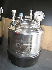 Alloy Products Corp. 130 PSI max W.P. 100 f. Pressure Vessel 316L SS