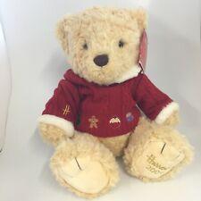 New Harrods Teddy Bear Maxwell Christmas 2009 Edition 29002 CP