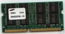 256mb RAM de memoria Acer travelmate 210 210t 210ter