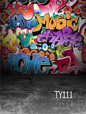 Straße Graffiti Vinyl Hintergrund Für Fotostudio Hintergrundstoff  3X3M TY111