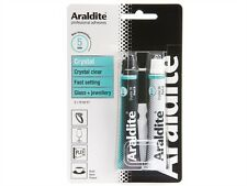 6 x Araldite CRYSTAL Solvent Free Water Resistant Strong Adhesive 15ml (2) Tubes