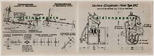 Friedrichshafen Bodensee Reklamekarte Sauter Bootsmotoren ungefalzt um 1910