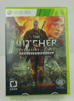 The Witcher Assassins of Kings Enhanced Edition (Xbox360, 2011) No Soundtrack