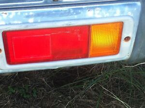 Pajero tail light right wrecking pajero