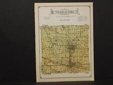 Iowa, Tama County Map Toledo & Tama Township  1926  W2#53