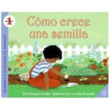 How A Seed Grows (spanish Edition): Como Crece Una Semilla (let's-Read-And-Fi...