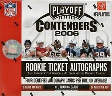 2006 Playoff Contenders NFL Football Hobby Box