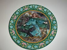 "Wedgwood ""Morgan le fan and Mordred"" Legend of King Arthur Plate, 1987"