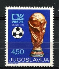 Yugoslavia 1974 SG#1614 World Cup Football MNH #A33207