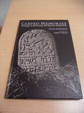 Carved Memories -Heritage Stone from the Russian Jewish