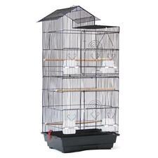 "Bird Parrot Cage Canary Parakeet Cockatiel LoveBird Finch Bird Cage Black 39"""