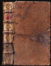 La SAINTE BIBLE par Mr De SACY Les douze Petits Prophètes GOSSE La Haye 1722 T.9