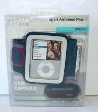 Belkin Black Sports Gym Armband Cover Case for Ipod Nano 5G 4G 2G 1G F8Z153-KG