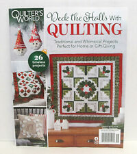 QUILTER'S WORLD Christmas 2020 DECK THE HALLS WITH QUILTING Quilts HOLIDAY ISSUE