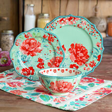The Pioneer Woman 12 Piece Gorgeous Garden Dinnerware Set