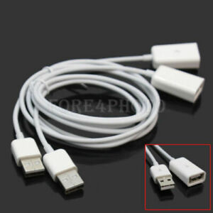 1m USB 2.0 Male To Female M/F Extension Extender Charging Cables Cords Good Item