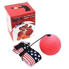Reflex Fight Ball With String For Speed Punching, Boxing Reflex Ball
