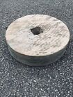 Grinding Stone Concrete/stone Garden Water Feature Ornament Approx 16 Inches W