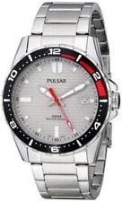 Pulsar Men's PS9103 Pulsar Analog Display Japanese Quartz Grey Dial Watch