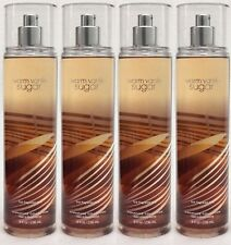 4 Bath & Body Works WARM VANILLA SUGAR Fine Fragrance Mist Spray