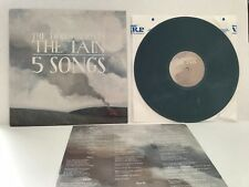 "THE DECEMBERISTS Tain 5 Songs 12"" BLUE GREY vinyl 1st Press RARE Switched labels"