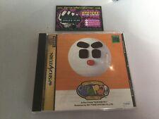 Kururin Pa! Puzzle  Sega Saturn JP Japan Boxed W/ Manual Good Cond