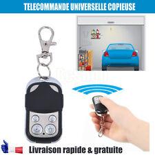 Télécommande Universelle COPIEUSE 433 MHZ clé Porte de Garage Portail Alarme