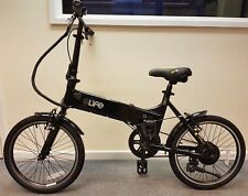 Elife Air Black Electric Folding Bike 20inch Wheel **MANUFACTURER REFURBISHED**