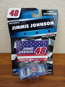 2019 Wave 7 Jimmie Johnson 2001 Lowe's First Start 1/64 NASCAR Authentic Diecast