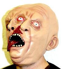 Dos cara enfrenta Máscara De Latex Halloween Demonio Zombie Ghoul Horror Siameses