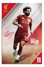 "Liverpool FC Mo Salah 2019 - 2020 Season Poster  24x36"" Official |UK Seller"