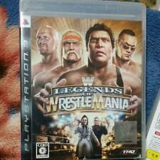 PS3 WWE Legends of Wrestlemania 10865 Japanese ver from Japan
