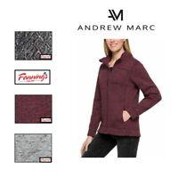 SALE Andrew Marc New York Womens Zip Jacket Fleece VARIETY Size & Color! D15