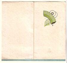 ITALY - 1933 PIROSCAFO DUILIO  ILLUSTRATED MUSIC PROGRAM