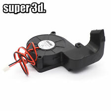 DC 12V Blower Fan 5015 with Air Guide Duct Mounting Bracket for 3D Printer