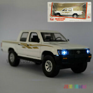 1:32 Toyota Hilux Pickup Model Car Alloy Diecast Toy Vehicle Collection Kid Gift
