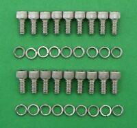 FORD CROSSFLOW oil sump st.steel cap head bolt kit - XFlow Escort Cortina