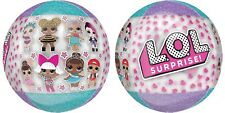 "LOL DOLL Sphere Ball Orbz Helium BALLOON 15"" Genuine  NOT CHINESE FAKE Surprise"