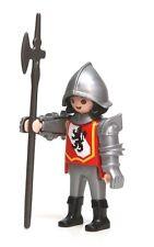 Playmobil Figure Castle Sentry Guard Lion Crest Armour Halberd Helmet 4583